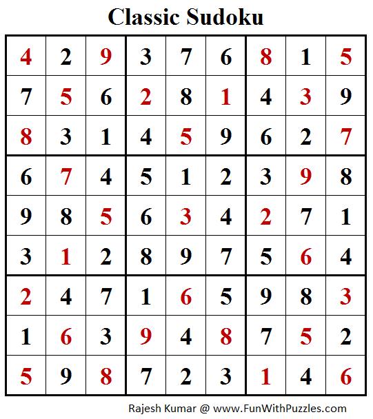 sudoku rz online