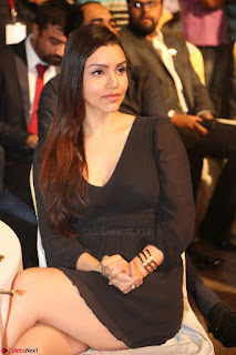 Kyra Dutta in black At Rogue Movie Audio Launch ~  004.JPG