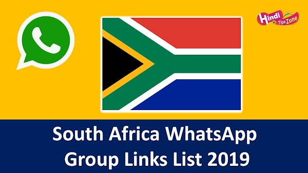 {*Links Updated*} South Africa WhatsApp Group Links List 2019