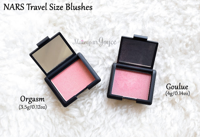 Nars Goulue vs Orgasm Blush Swatch Review