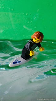 iPhone Lego Minifigure Wallpapers City Surfer