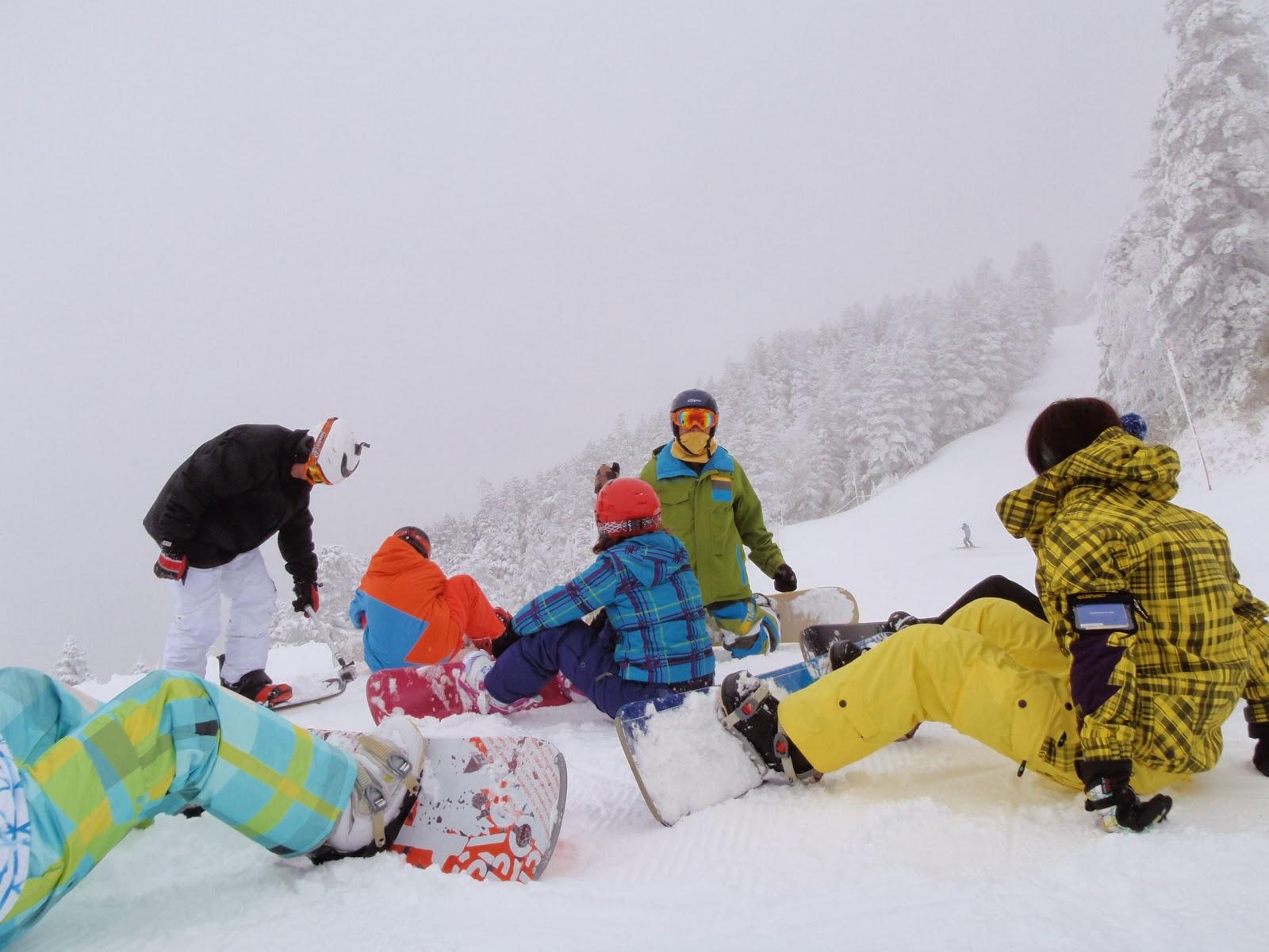 一年應該...: 滑雪遊樂園-志賀高原(上)