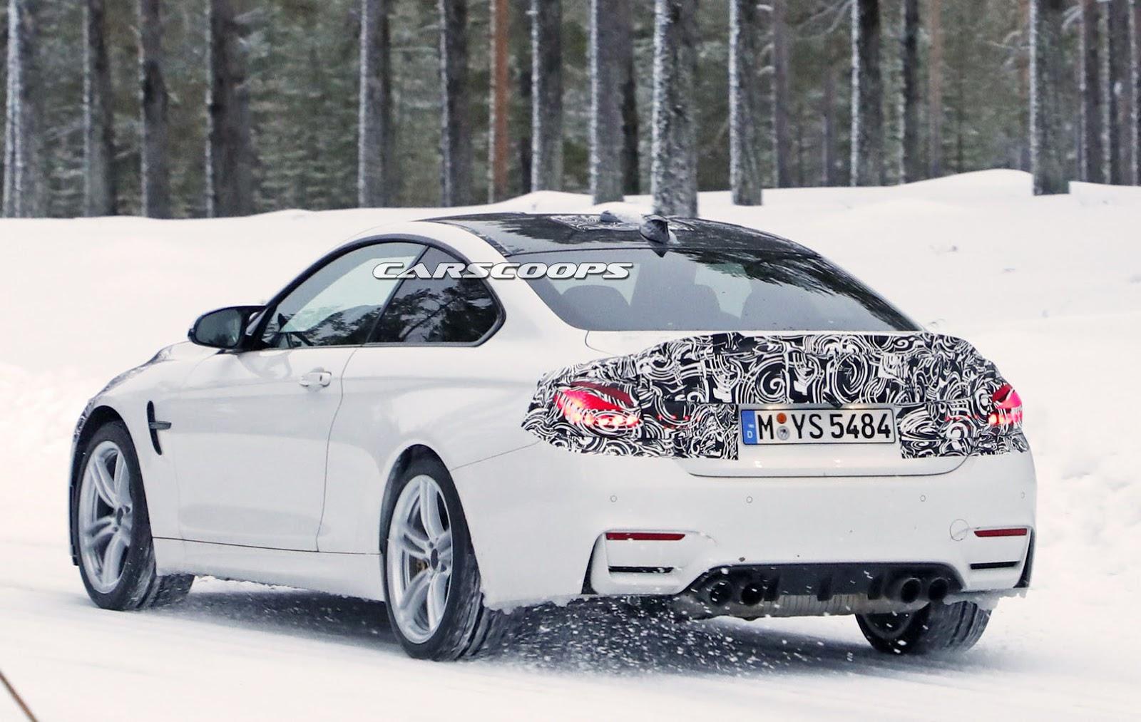 2014 - [BMW] M3 & M4 [F80/F82/F83] - Page 24 Spied-BMW-M4-CS-12