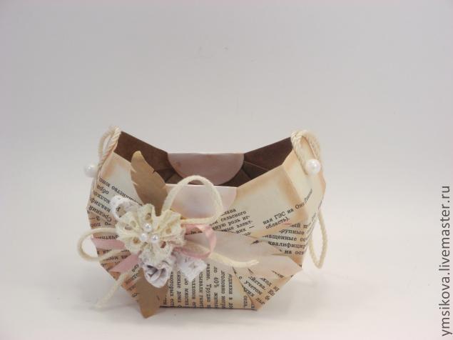 DIY Vintage Gift Basket Tutorial