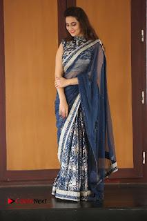 Actress Manjusha Pictures in Saree at Srirastu Subhamastu Song Launch  0234.JPG