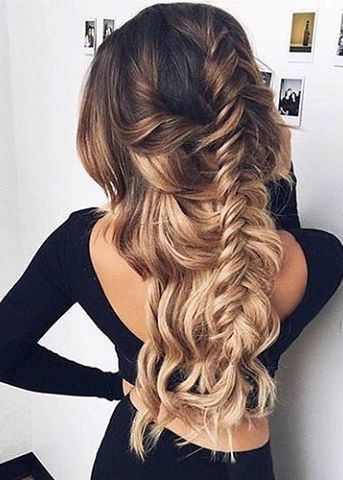 Easy Ombre hairstyle