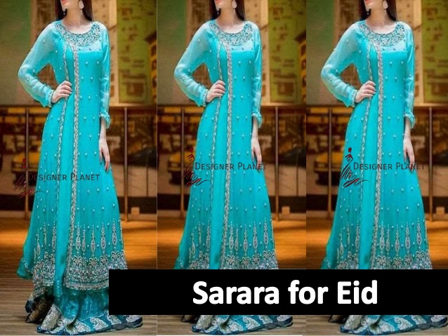 Bollywood sarara for Eid Must Try Designerplanet