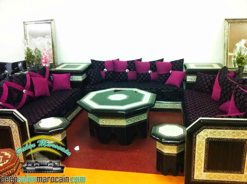 boutique salon marocain 2018 2019 int rieur. Black Bedroom Furniture Sets. Home Design Ideas