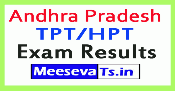 AP TPT/HPT Exam Results