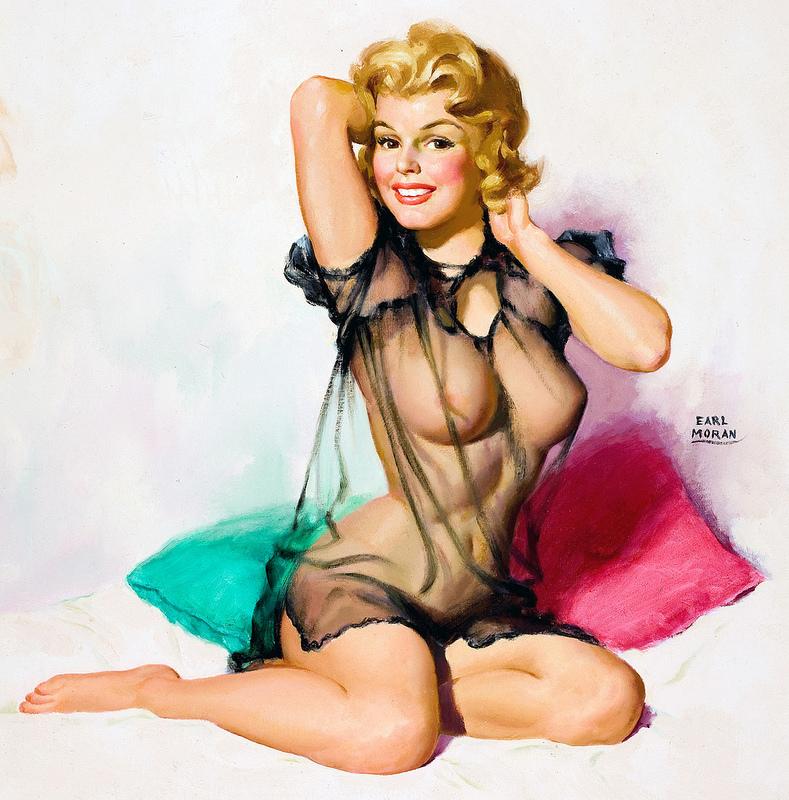 Serena bondage vintage erotica
