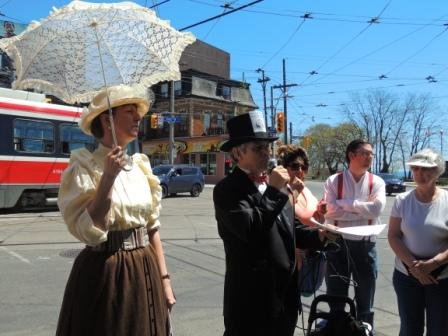Teena in Toronto: Jane's Walk - The Architectural Legacy of