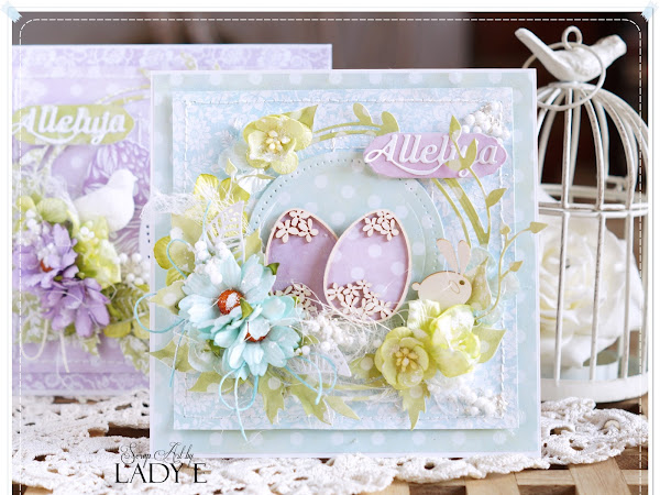Easter Cards & Video Tutorial / Kartki Wielkanocne