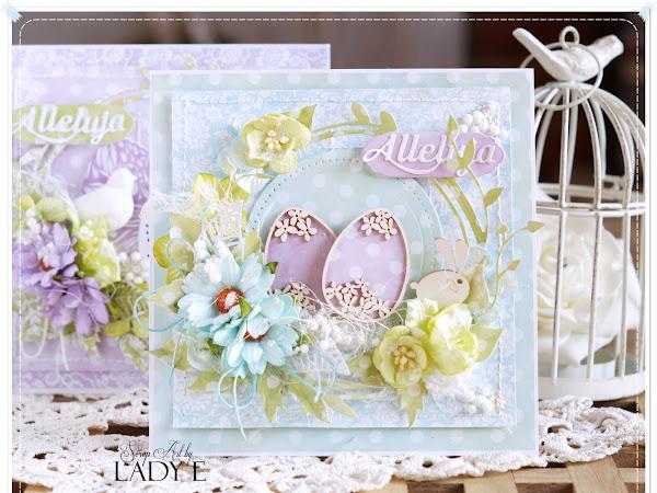 Easter Cards & Video Tutorial / Kartki Wielkanocne