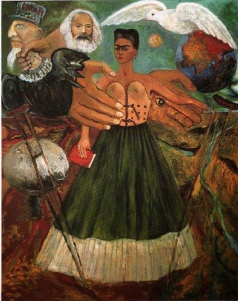 O Marxismo Dará Saúde aos Doentes - Frida Kahlo e suas pinturas ~ Pintora comunista e revolucionária