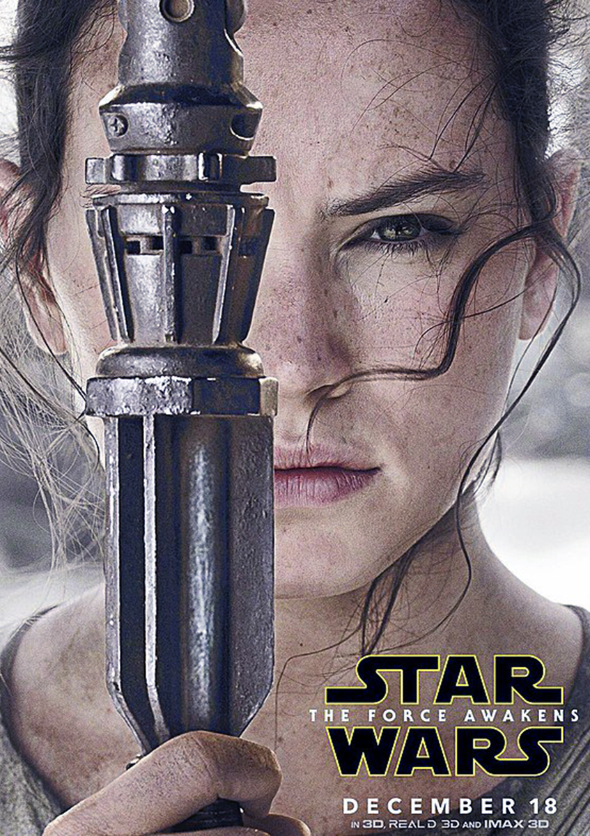 Poster Star Wars The Force Awakens: Rey