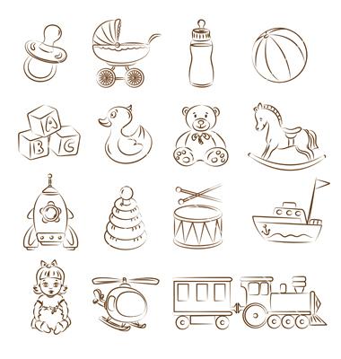 Juguetes Para Bebes Para Imprimir Imagenes Y Dibujos Para Imprimir