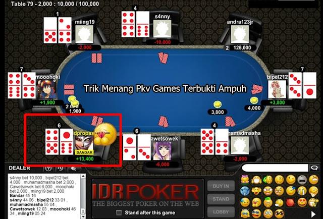 Semua pencinta judi online tentunya ingin mendapat kemenangan dalam setiap melaksanakan p Trik Menang Pkv Games Terbukti Ampuh