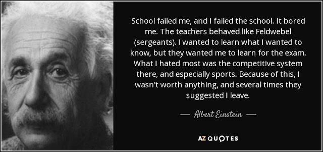 Einstein dan Sekolah - Filosofi Remaja