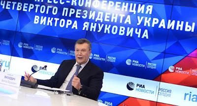 Янукович заявив, що Порошенко не зможе перемогти на виборах без фальсифікацій