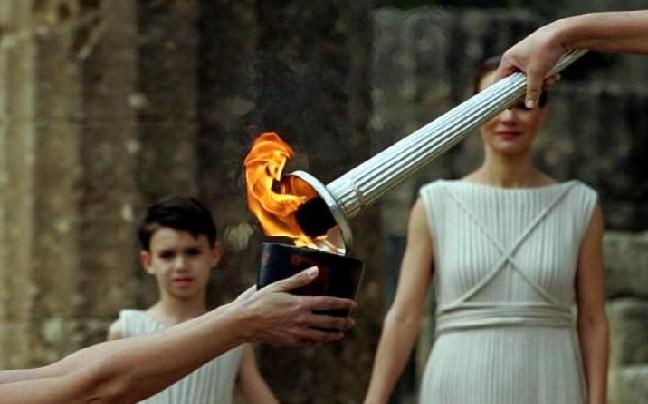 Στην Λάρισα η Ολυμπιακή φλόγα για τους χειμερινούς Ολυμπιακούς Αγώνες της Ν. Κορέας