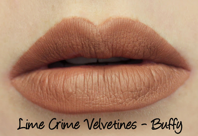 Lime Crime Holiday Velvetines Trio - Buffy Swatches & Review