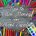 10 Tips to Save Money on School Supplies