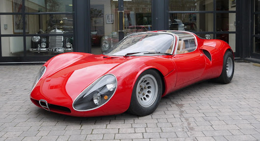 Holy Moses, An Alfa Romeo 33 Stradale Just Turned Up For Auction!
