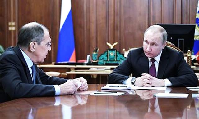 Sergei Lavrov, Vladimir Putin