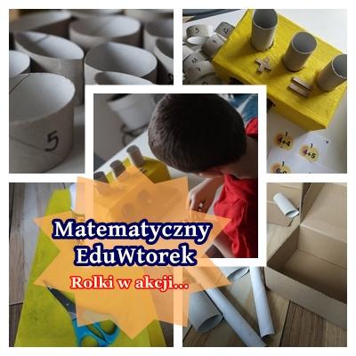 Matematyczne pudełko- rolki w akcji