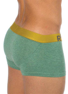 Rounderbum Lift Trunk Underwear Heather Green Gayrado Online Shop