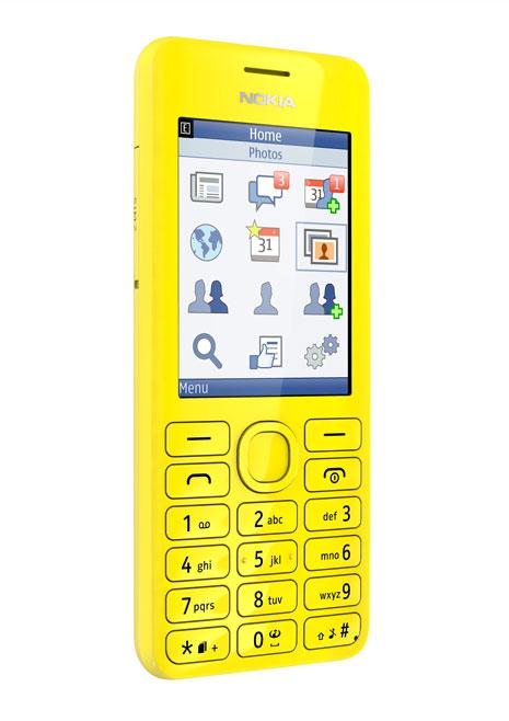 Nokia Asha 206 kuning