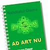 AD ART NU Terbaru 2017 Lengkap (Anggaran Dasar Rumah Tangga Nahdlatul Ulama) Part 2