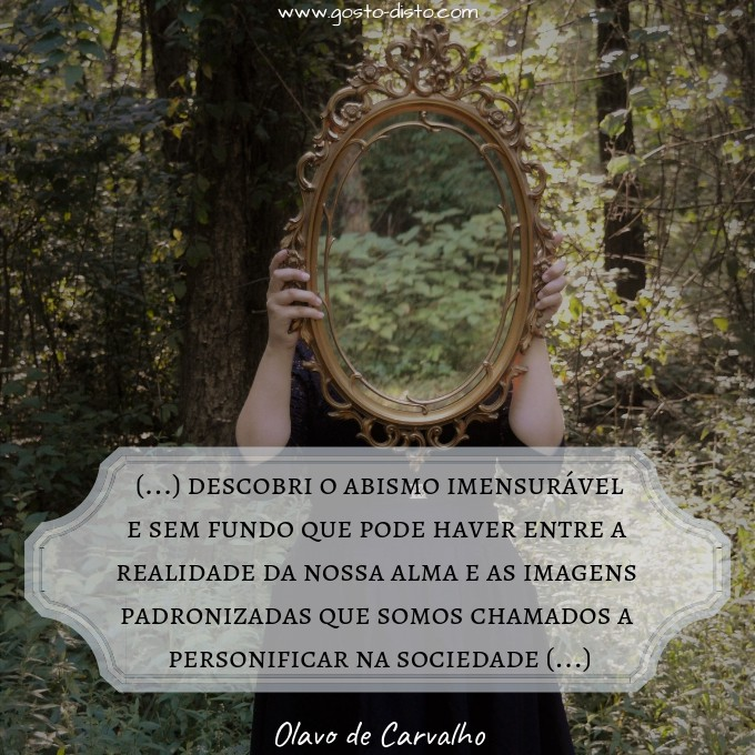 Frase de Olavo de Carvalho