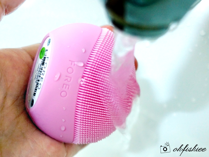 FOREO face brush LUNA play plus with underwater