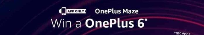 (Answers Added)Amazon OnePlus 6 Maze Contest Quiz Answers
