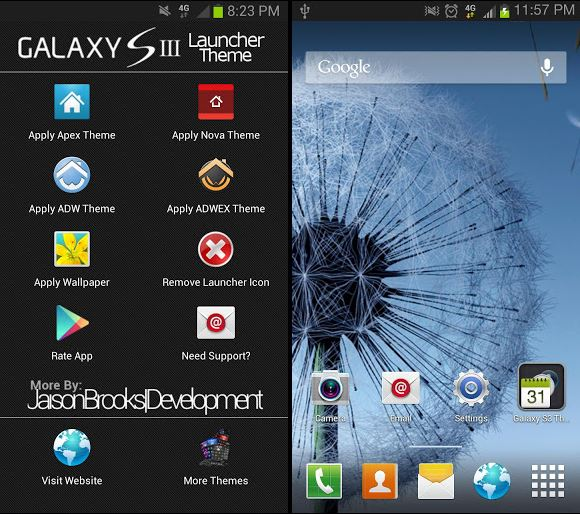 Download Apk Android: Galaxy S3 Theme V4.2.2 Apk