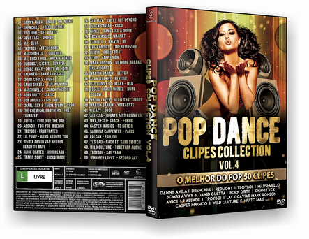 CAPA DVD – POP DANCE CLIPES COLLECTION VOL 4 – ISO