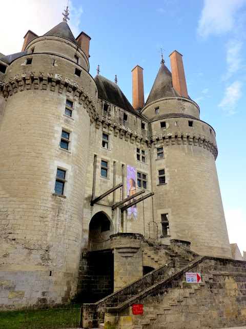 Château in Langeais, Loire Valley, France