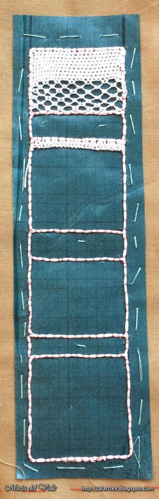 Needle Lace Tutorial - Bookmark Sampler 1 - 1