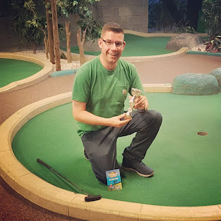 Richard Gottfried Paradise Island Adventure Golf Open Champion in Manchester