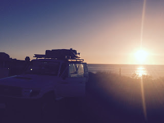 4WD Camper Perth to Broome Sunset