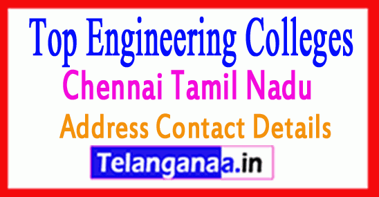 Top Engineering Colleges in Chennai Tamil Nadu