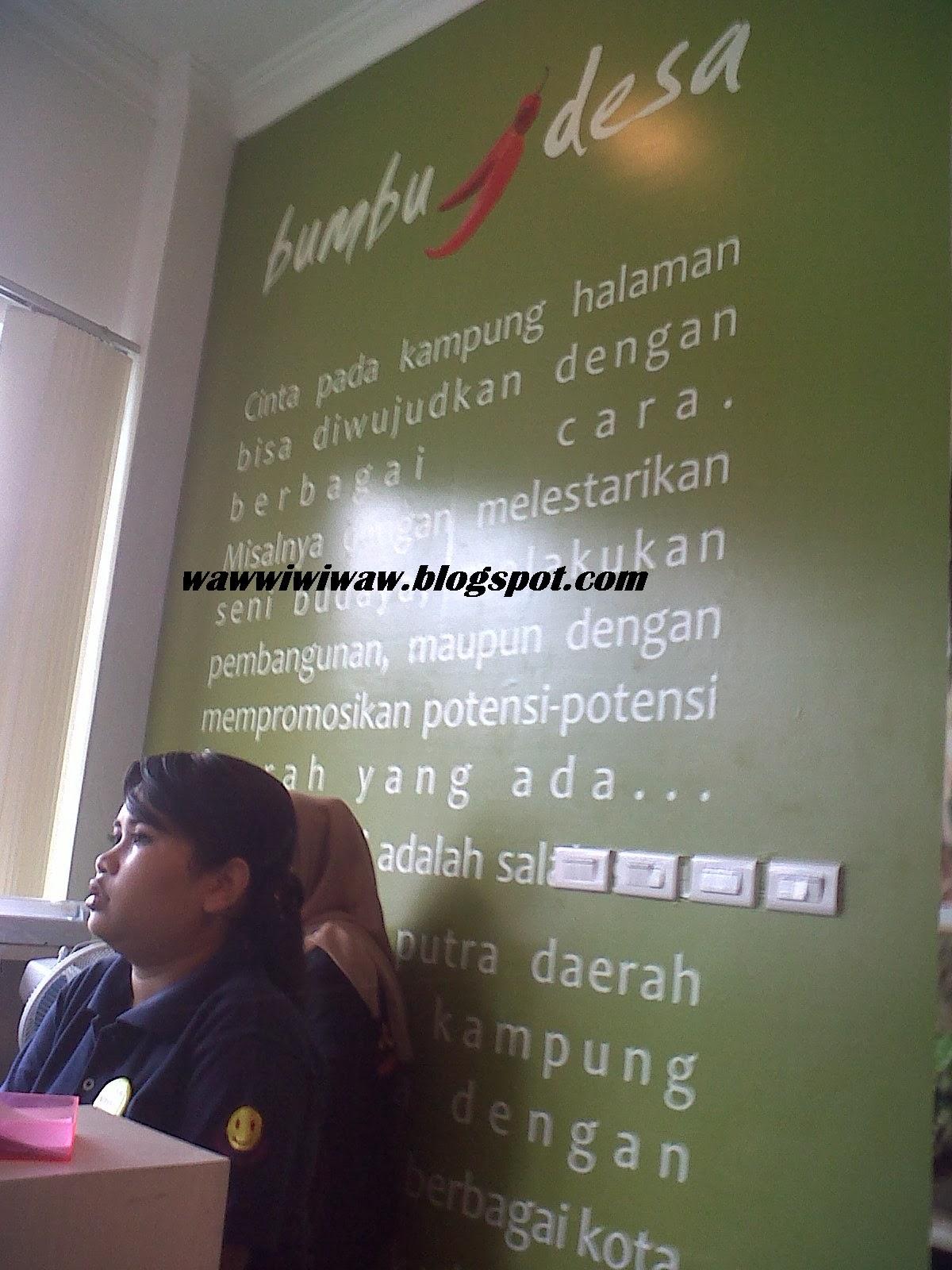 waws land Mencicipi Bumbu Desa  Bandar Lampung