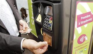 Paiement sans contact parcmètre NFC