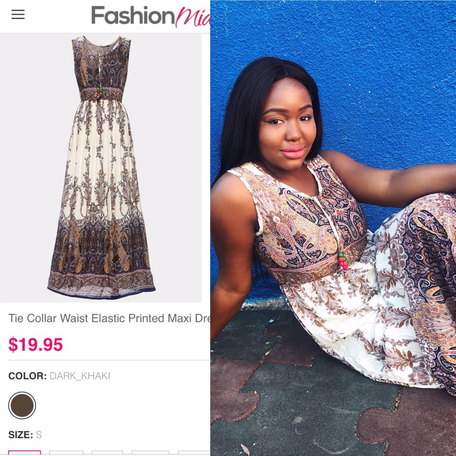fashion mia nude maxi boho dress dateswithdanie
