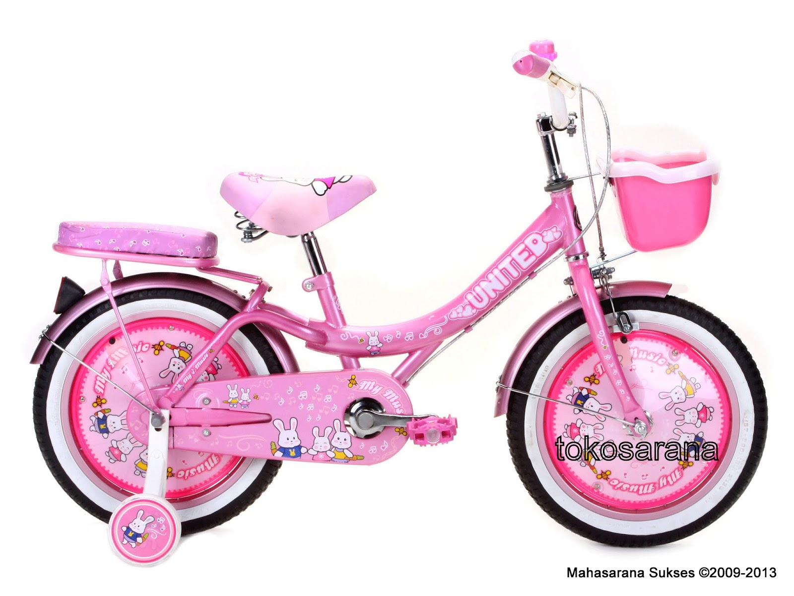 Sepeda Anak United My Music 16 Inci Pink ~ News Untuk Anak
