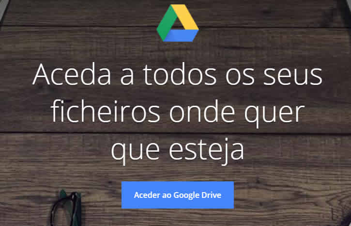 Aceder ao Google Drive