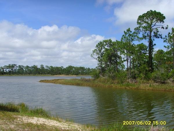Einer der zahlreichen Zuflüsse im Everglades Nationalpark in Florida