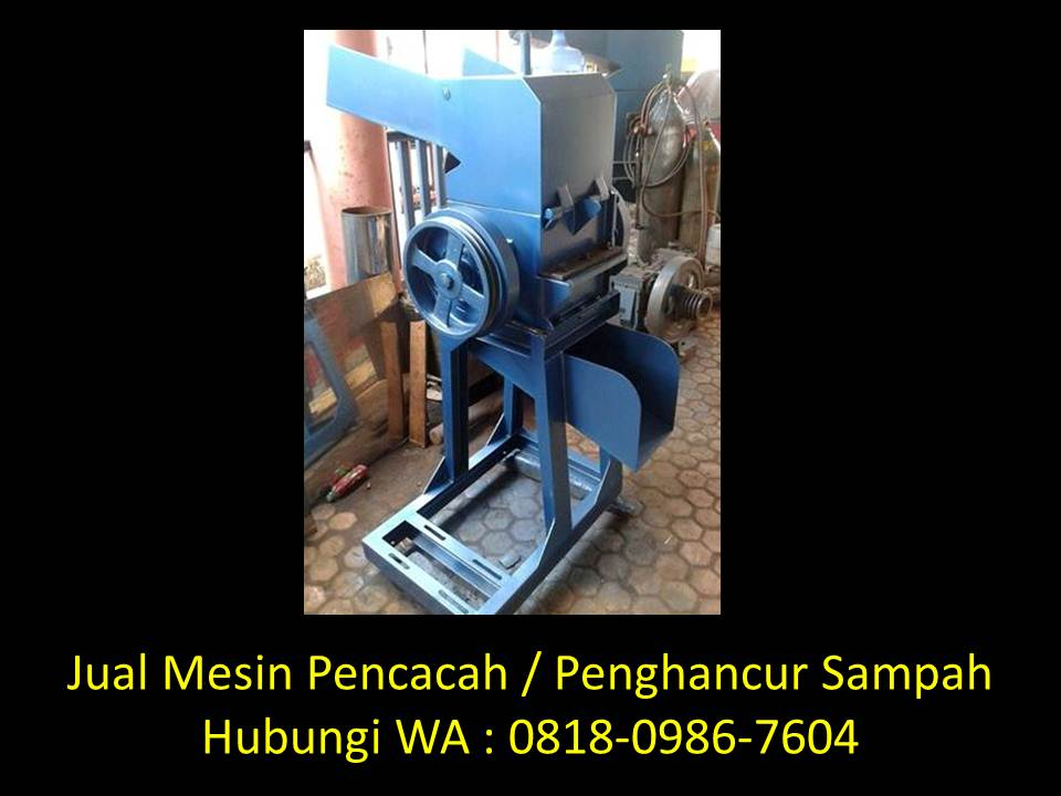 mesin penggiling limbah di bandung