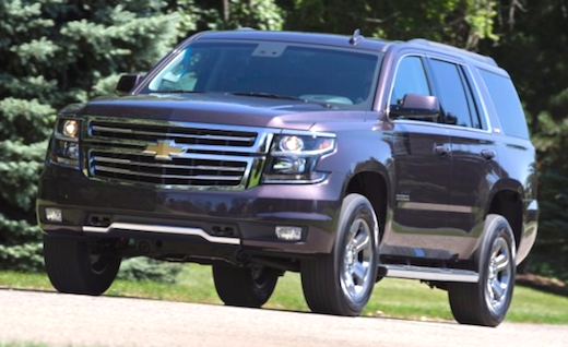 2018 Chevy Tahoe RST Release Date